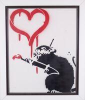 Banksy, 'Love Rat', 2015