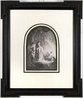 Rembrandt van Rijn, 'The Raising of Lazarus: The Larger Plate [John 11: 1-44]', ca. 1632