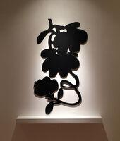 Donald Sultan, 'Three Black Lantern Flowers', 2017