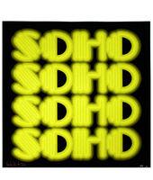 Ben Eine, 'SOHO (Acid Green Printers Proof)', 2015