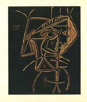 Pablo Picasso, 'Tete de Femme', 1962