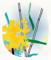 Roy Lichtenstein, 'Flower with Bamboo', 1996