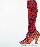 Andy Warhol, 'Gee, Merrie Shoes', c. 1950