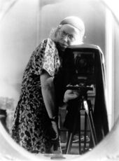 Self-Portrait in Mirror, Home, 1934