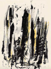 Arbres (Black and Yellow)