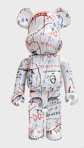Jean-Michel Basquiat, 'Basquiat Bearbrick 1000% Companion (Basquiat BE@RBRICK)', 2018