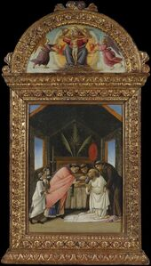 Sandro Botticelli, 'The Last Communion of Saint Jerome', early 1490s