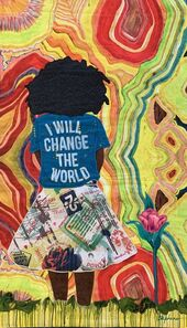 Phyllis Stephens, 'I Will Change The World', 2019