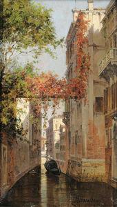 Antonietta Brandeis, 'Palazzo Albrizzi', 1900