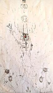 ANURADHA DELACOUR, 'une esprit 4', 2020