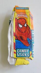 Tom Pfannerstill, 'Spider-man (Candy Sticks)', 2020