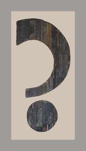 Noah Purifoy, 'The Question', 2004