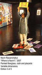 Navin Rawanchaikul, 'Where Is Navin', 2007
