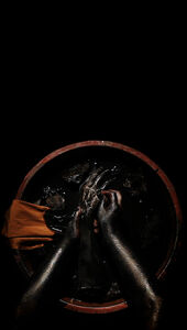 Shoufay Derz, 'Wash hands (xishou)', 2016