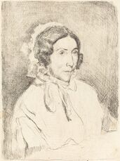 Woman in a Ruffled Cap (Dame agée)