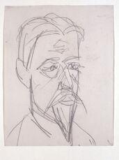 Bildnis Professor Botho Graef (Portrait of Professor Botho Graef)