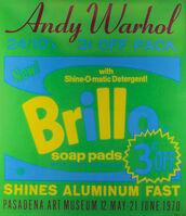 Andy Warhol, 'Andy Warhol, Brillo, Pasadena Art Museum, Serigraph, 1970', 1970