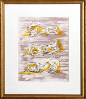 Henry Moore, 'Three Reclining Figures for Panorama 71', 1971