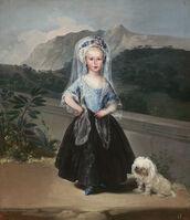 Francisco de Goya, 'María Teresa de Borbón y Vallabriga, later Condesa de Chinchón', 1783