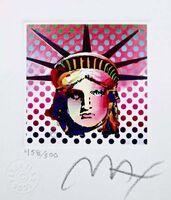 Peter Max, 'Liberty Head II', 2001