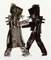 Irving Penn, 'Two Miyake Warriors (B)', 1998