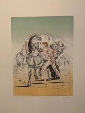Arciere con cavallo