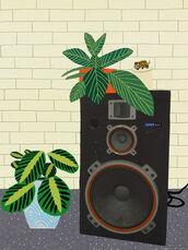 Speaker Still Life