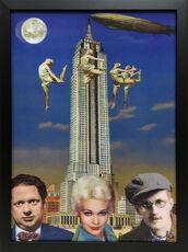Dylan Thomas, Kim Novak and James Joyce in New York