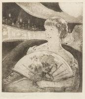 Mary Cassatt, 'In the Opera Box (No. 3)', c. 1880