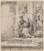 Rembrandt van Rijn, 'Return of the Prodigal Son', 1636