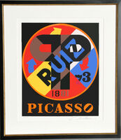 Robert Indiana, 'Picasso from the American Dream Portfolio', 1997