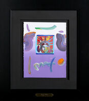 Peter Max, 'Liberty Head (Purple)', 2010