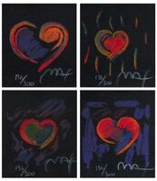 Peter Max, 'Heart Suite III, Four Artworks', 1997