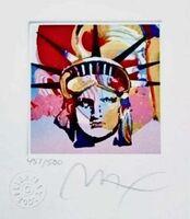 Peter Max, 'Liberty Head VI', 2001