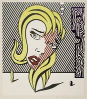 Roy Lichtenstein, 'Blonde, from the Surrealist series (C. 153; G. 791)', 1978