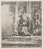 Rembrandt van Rijn, 'The Return of the Prodigal Son', 1636-a late impression