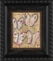 Hunt Slonem, ' Hunt Slonem Original Untitled Butterfly Painting Contemporary Art', 2019