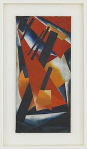 Liubov Popova, 'Non-objective composition', 1916-1917