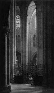 Frederick Henry Evans, 'Bourges Cathedral, North Isle', ca. 1906