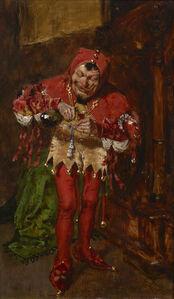 William Merritt Chase, 'The Jester ', 1875