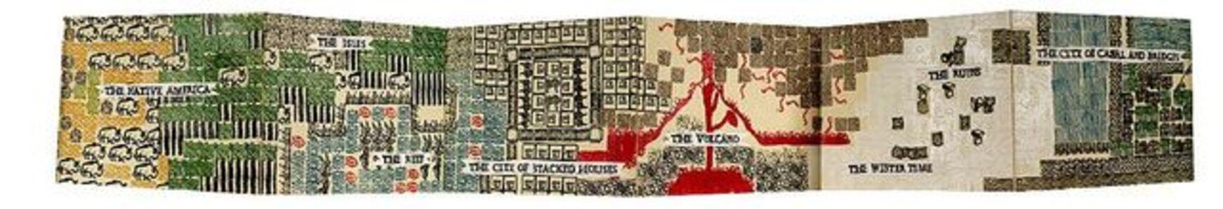 Veronica Graham, 'The Map of Neighboring Territories: Stamp Book', 2008