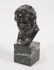 Balzac, étude C (buste), 3ème version, petit modèle