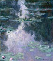 Claude Monet, 'Water Lilies (Nymphéas)', 1907