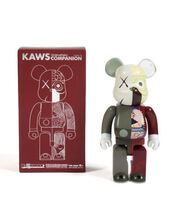 KAWS, 'Bearbrick Dissected Companion 400% (Brown)', 2008