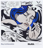 Roy Lichtenstein, 'Drowning Girl, Nudes With Beachball (Two Works)', 2013