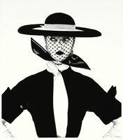 Irving Penn, 'Black and White Vogue cover (Jean Patchett), New York', 1950