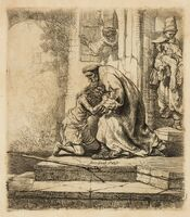 Rembrandt van Rijn, 'The Return of the Prodigal Son', circa 1636