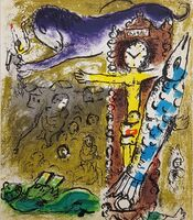 Marc Chagall, 'Christ in the Clock', 1957