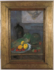 Still Life with a Sketch after Delacroix