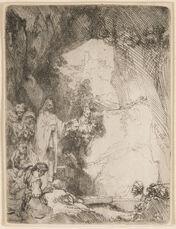 The Raising of Lazarus. Small Plate
